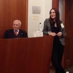 Sara Zuccari - Conferenza stampa Spoleto