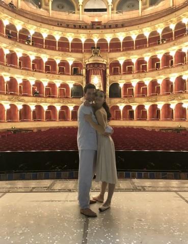 Alessio Rezza e Susanna Salvi