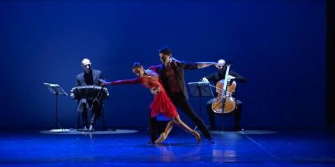 Astor Piazzolla Balletto di Verona Amaya Ugaterche e Kristian Matia