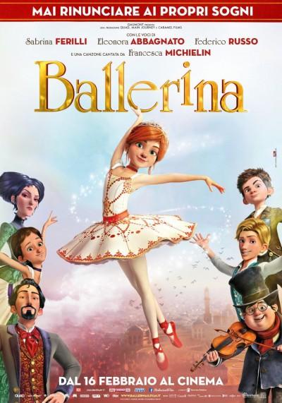 Tra sogni e fiabe arriva al cinema Ballerina, il nuovo film sulla Danza