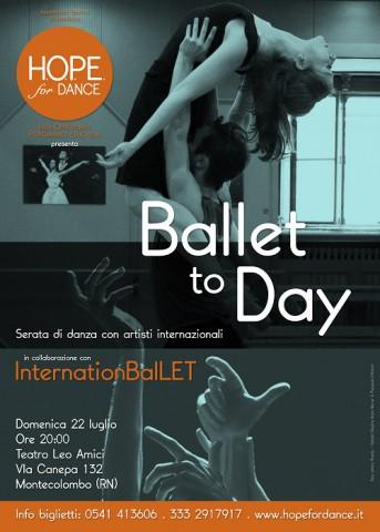 BalletTOday poster Rimini2018