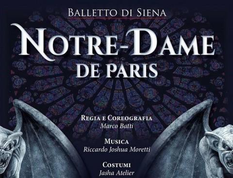 """Nuovo debutto del Balletto di Siena con """"Notre Dame de Paris"""""""
