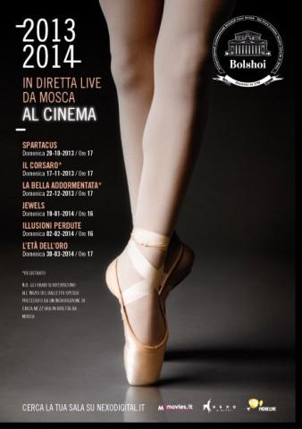 Bolshoi al cinema 2013 - 2014