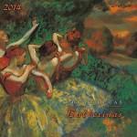 Degas Arts of Dancers Calendar 2014