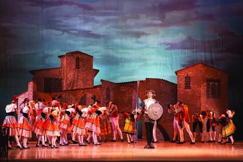Don Quixote Teatro Carlo Felice Genova