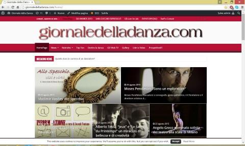 GD home page nuova