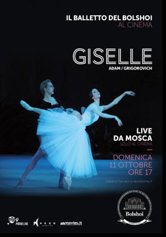 Giselle al cinema - Locandina
