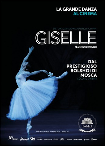La Grande Danza del Bolshoi arriva sul grande schermo con Giselle