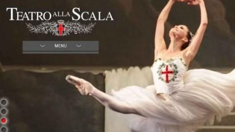 Homepage nuovo sito Teatro alla Scala