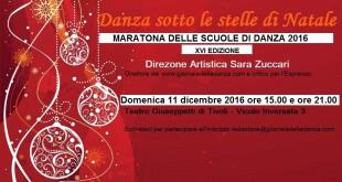 """Al via la XVI edizione di """"Danza sotto le stelle di Natale"""", la Maratona organizzata dal giornaledelladanza.com"""