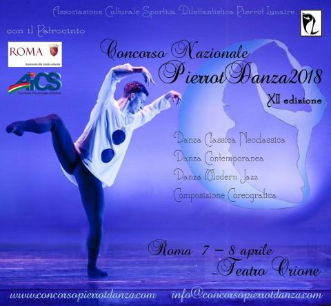 Locandina Pierrot Danza