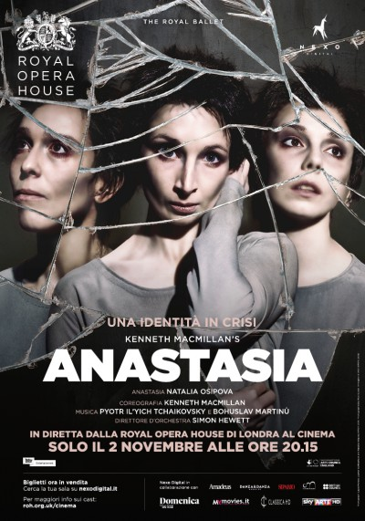 Nexo Digital presenta Anastasia, dalla Royal Opera House al cinema in diretta via satellite