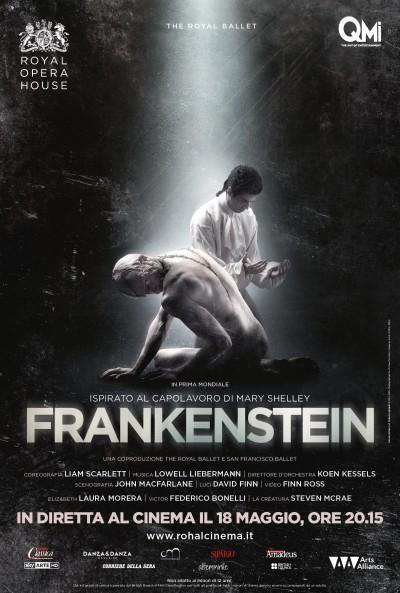 Frankenstein arriva al cinema dalla Royal Opera House a passo di danza