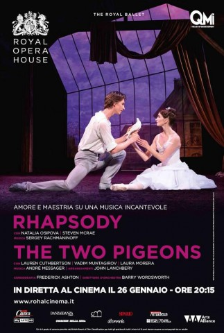 Rhapsody e The Two Pigeons - locandina