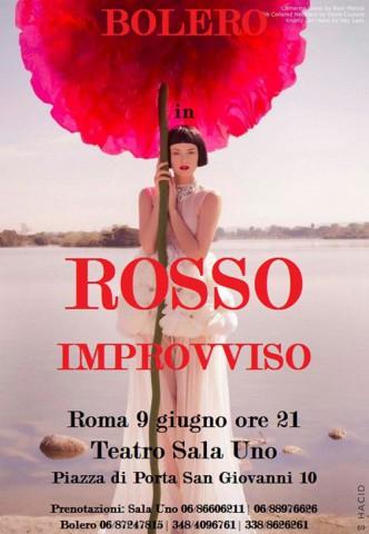 La Compagnia Bolero presenta lo spettacolo Rosso improvviso, la storia di Otto Mars, un mago, un fantasista che crea illusioni, un artista che crea prestigi