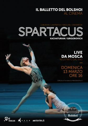 SPARTACUS - Locandina