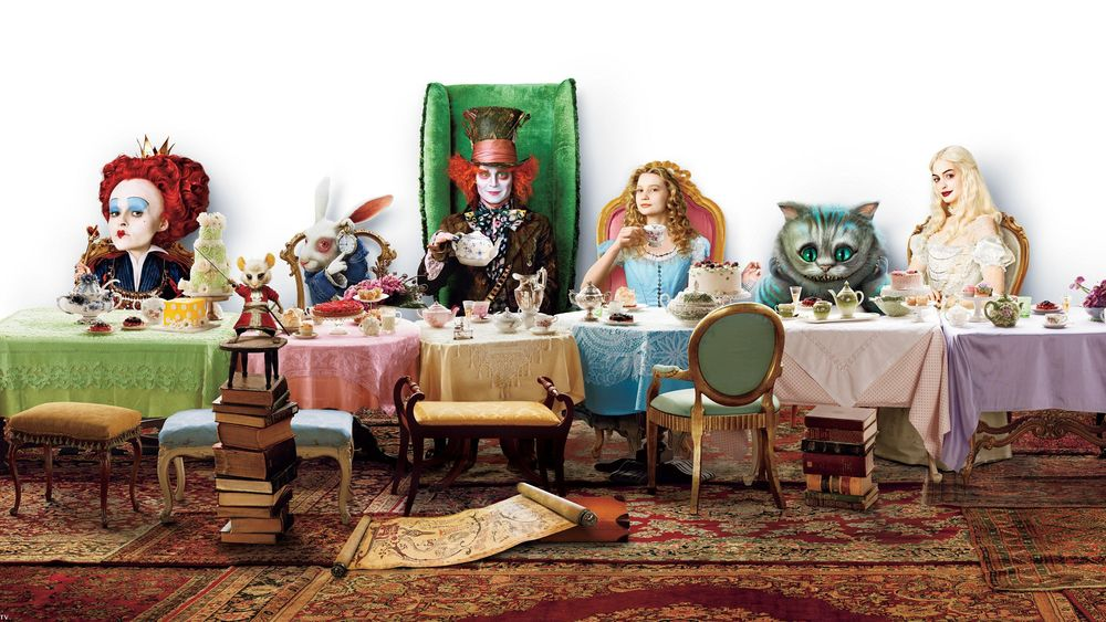 PROSPETTIVE01 – Flash Mob Alice in Wonderland