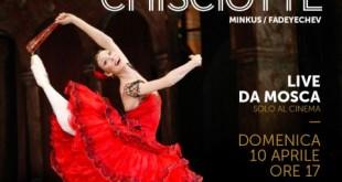 La stagione 2015/2016 del Bolshoi al cinema si conclude alla grande con il Don Chisciotte
