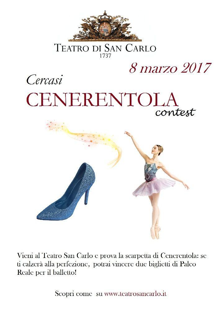 """Festa della Donna: """"Primadonna contest"""", provare la scarpetta per assistere a """"Cenerentola"""" dal Palco Reale del Teatro San Carlo di Napoli"""