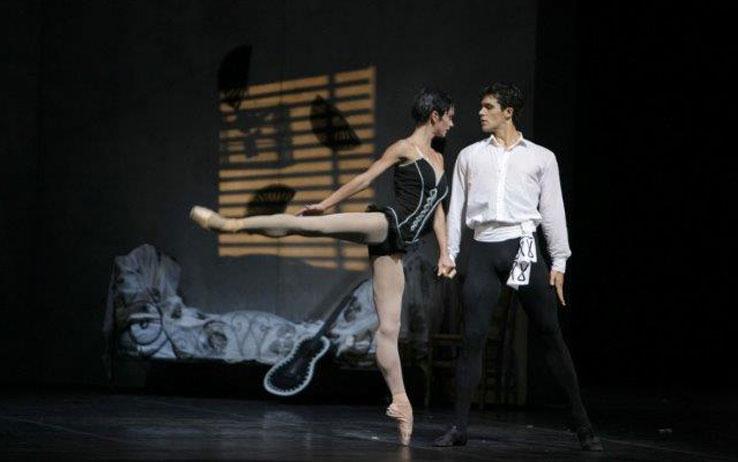 Roberto Bolle e Polina Semionova