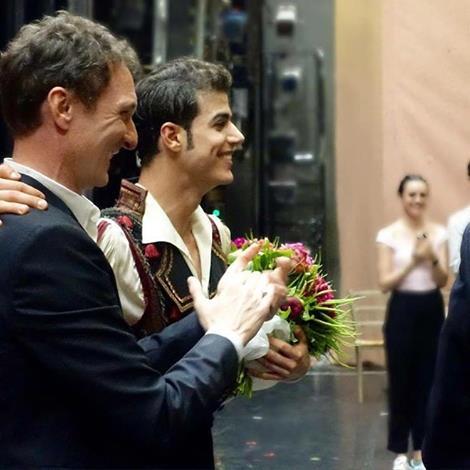 """e Dato, già Solista Dancer alla """"Vienna State Opera Ballet"""", il quale ieri sera, giovedì 26 maggio è stato nominato ufficialmente Étoile del Balletto dell'Opéra di Vienna in Austria."""